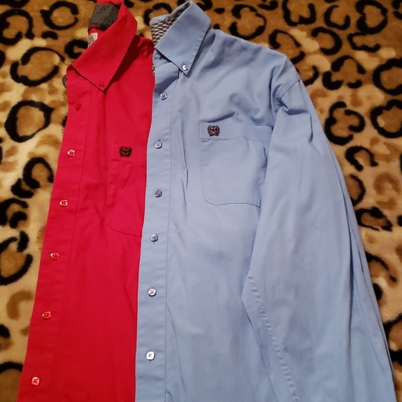 Two Cinch button ups